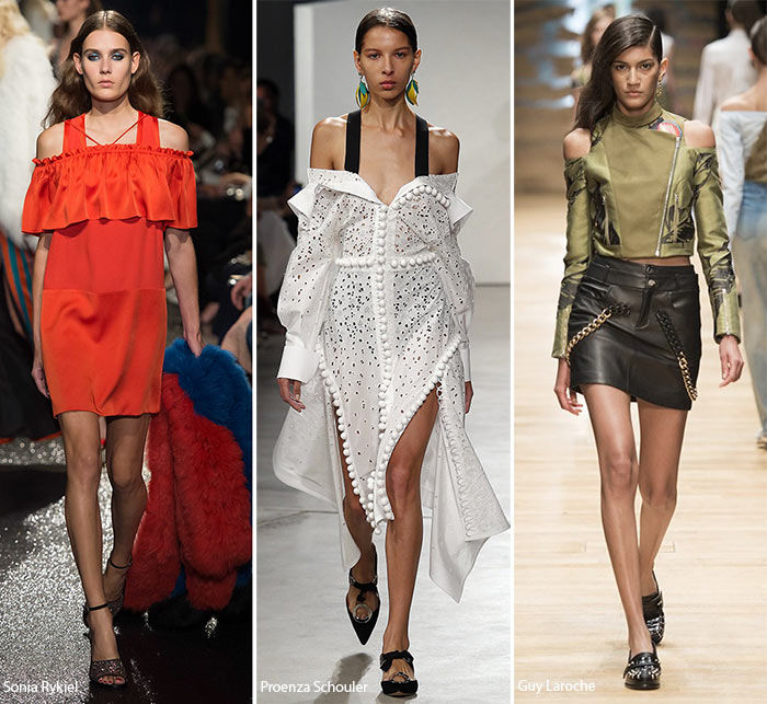 Spring/ Summer 2016 Fashion Trends: Shoulder Cutouts