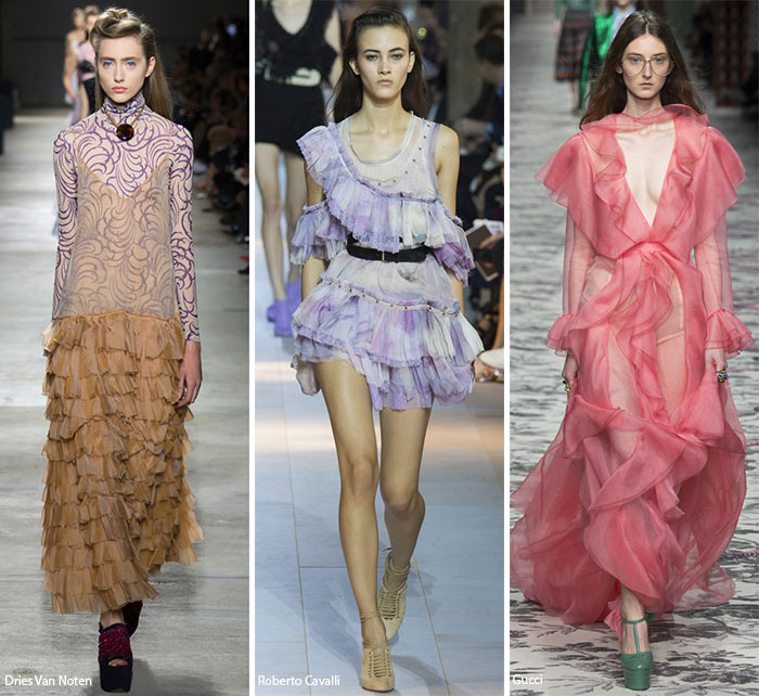 Spring/ Summer 2016 Fashion Trends: Ruffles & Frills