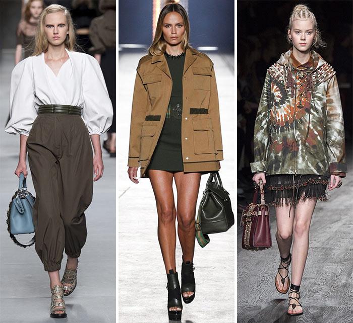 Spring/ Summer 2016 Fashion Trends: Safari Style