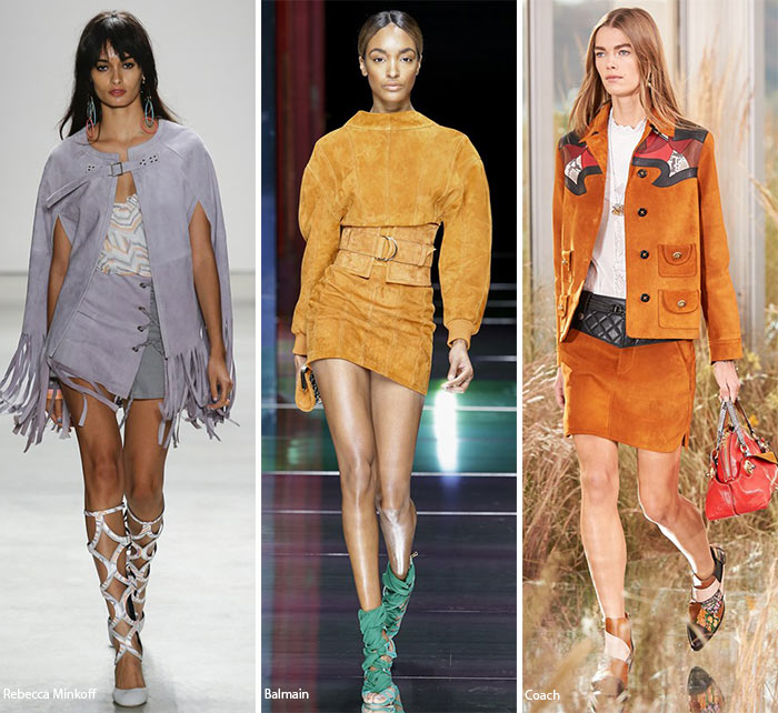 Spring/ Summer 2016 Fashion Trends: Suede