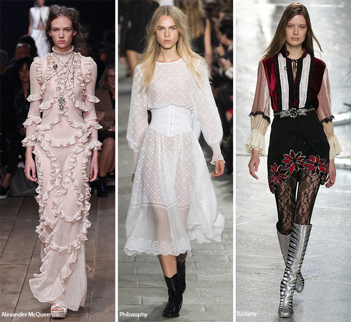 Spring/ Summer 2016 Fashion Trends: Victorian Fashion