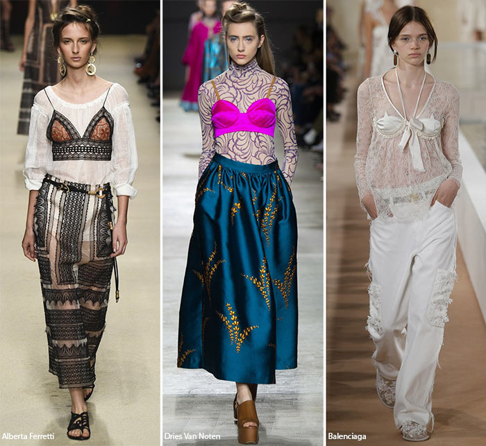 Spring/ Summer 2016 Fashion Trends: Bras Over Tops