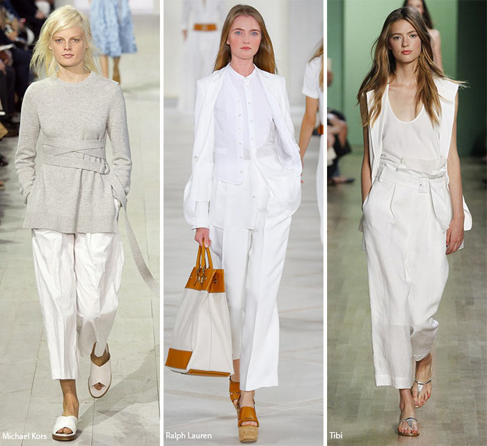 Spring/ Summer 2016 Fashion Trends: Wide-Cropped Pants