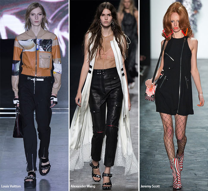 Spring/ Summer 2016 Fashion Trends: Zippers