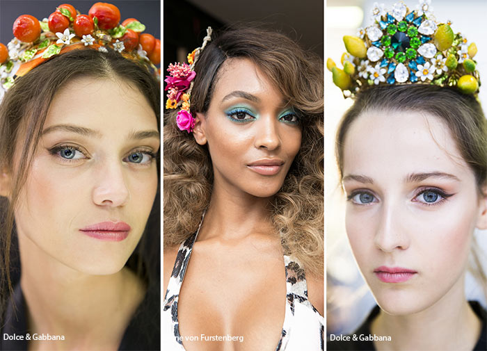 Spring/ Summer 2016 Hair Accessory Trends: Floral & Fruity Hair Accessories