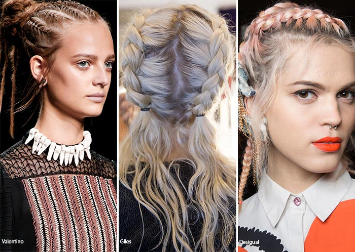 Spring/ Summer 2016 Hairstyle Trends: Braided Hairstyles