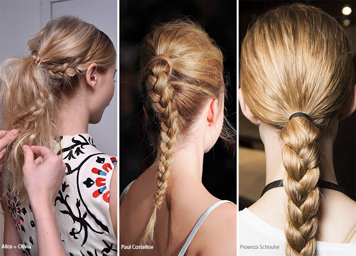 Spring/ Summer 2016 Hairstyle Trends: Braids