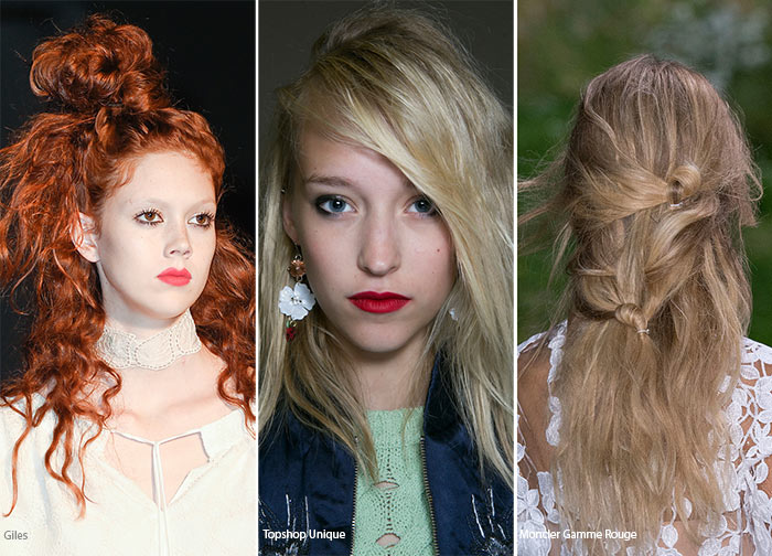 Spring/ Summer 2016 Hairstyle Trends: Messy Bed Hair
