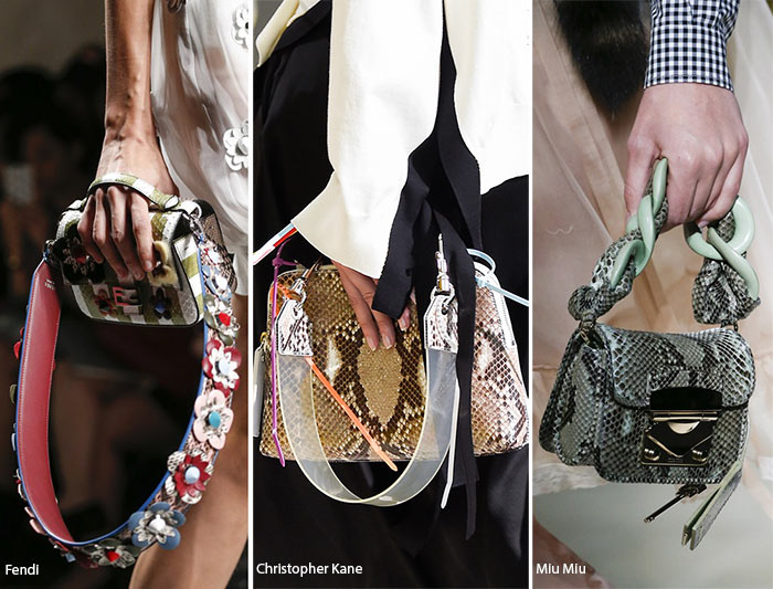 Spring/ Summer 2016 Handbag Trends: Bags with Statement Handles