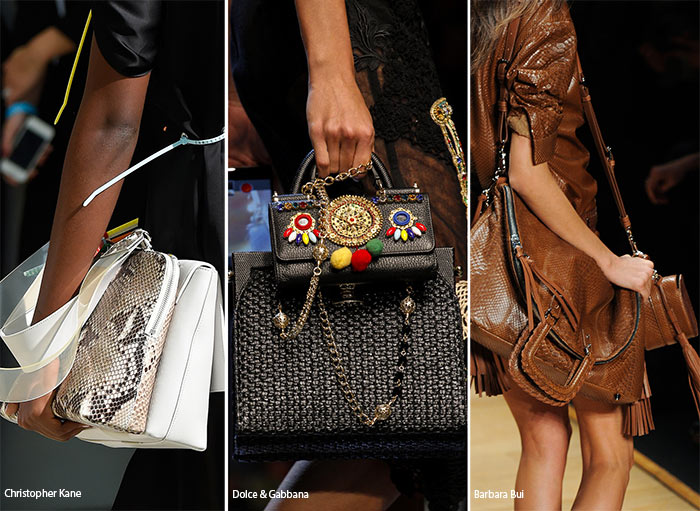 Spring/ Summer 2016 Handbag Trends: Carrying Many Bags At a Time