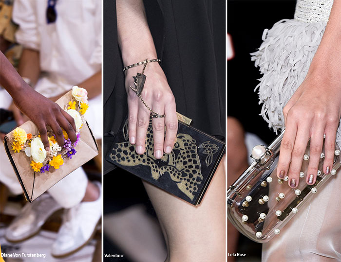 Spring/ Summer 2016 Handbag Trends: Clutches
