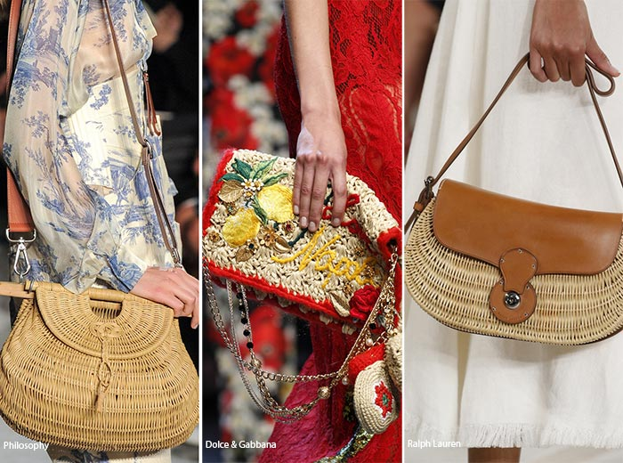 Spring/ Summer 2016 Handbag Trends: Straw Bags