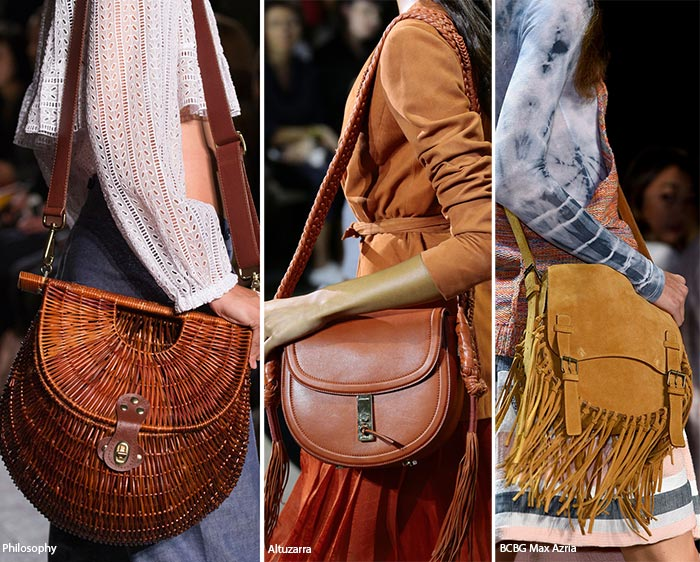 Spring Summer 2017 Handbag Trends Saddle Bags