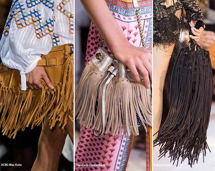 Spring/ Summer 2016 Handbag Trends: Tassled & Fringed Bags