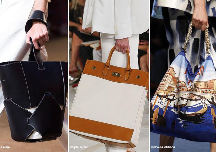 Spring/ Summer 2016 Handbag Trends: Tote Bags