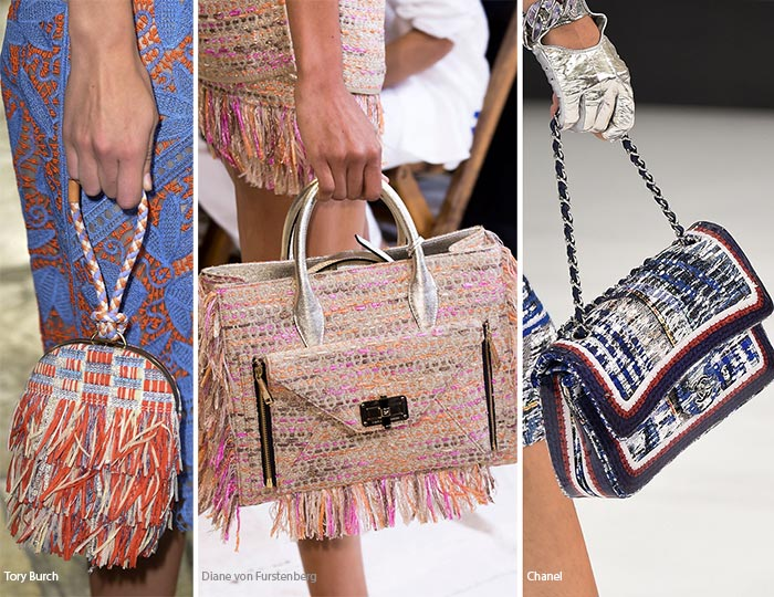 Spring/ Summer 2016 Handbag Trends: Tweed Bags