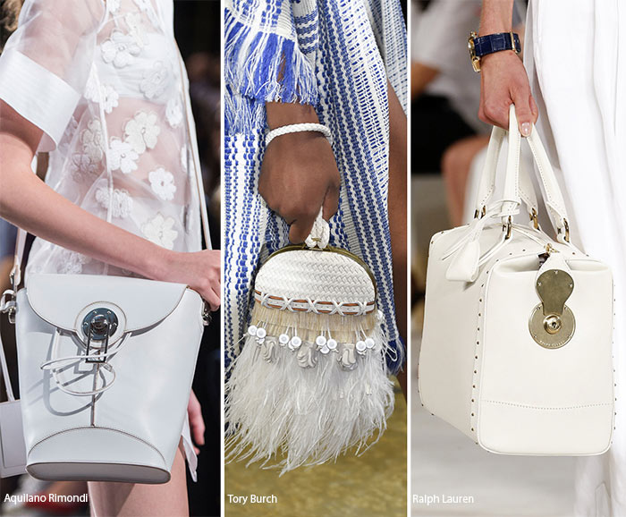 Spring/ Summer 2016 Handbag Trends: White Bags