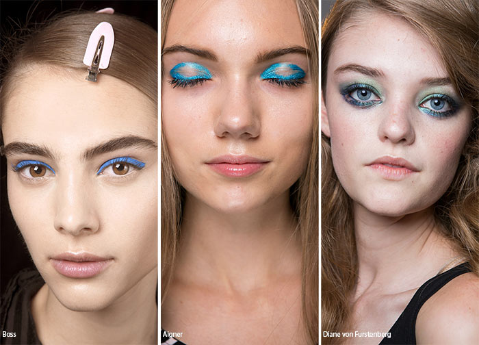 Spring/ Summer 2016 Makeup Trends: Blue Eye Makeup