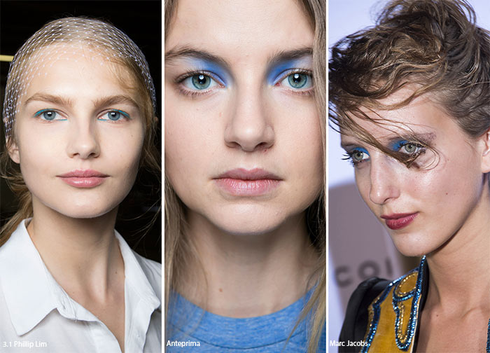 Spring/ Summer 2016 Makeup Trends: Eyeshadows Applied On the Corner of the Lids