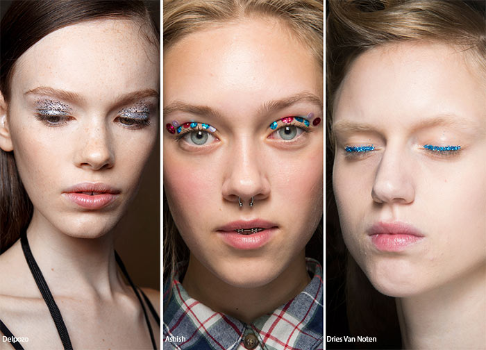 Spring/ Summer 2016 Makeup Trends: Glittering Eye Makeup