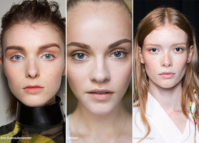 Spring/ Summer 2016 Makeup Trends: Natural No Makeup Makeup
