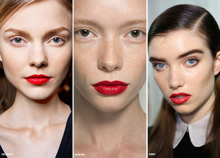 Spring/ Summer 2016 Makeup Trends: Red Lipstick
