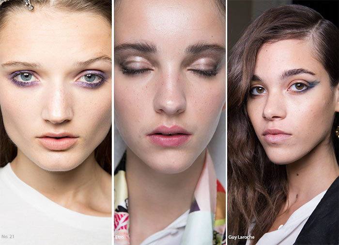 Spring/ Summer 2016 Makeup Trends: Smudged Worn Out Makeup