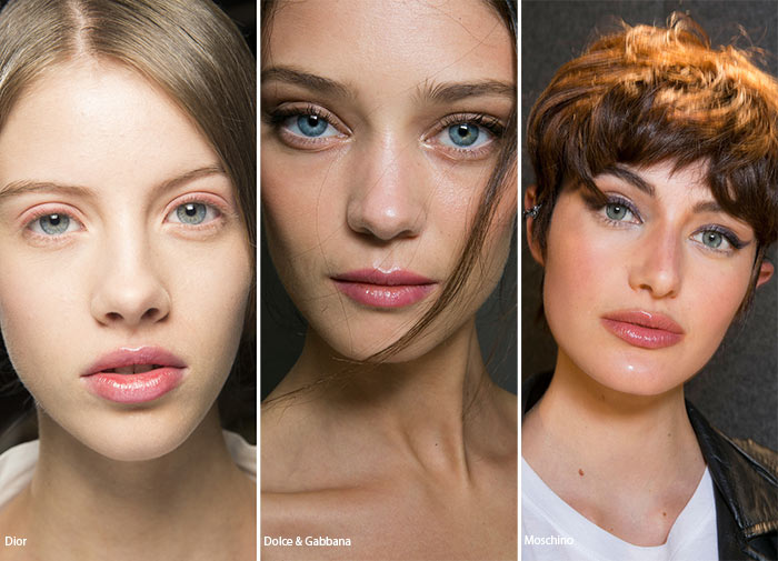 Spring/ Summer 2016 Makeup Trends: Transparent Lipglass
