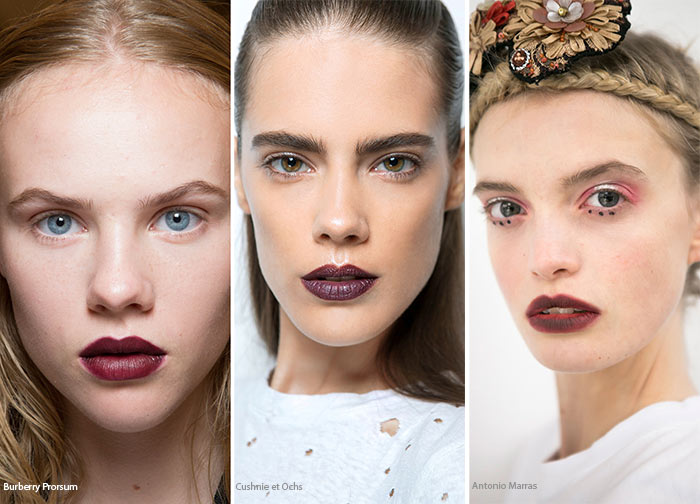 Spring/ Summer 2016 Makeup Trends: Vampire Lips