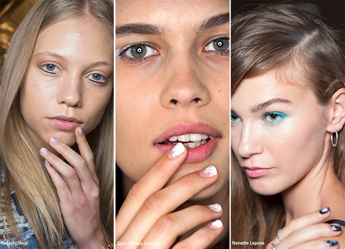 Spring/ Summer 2016 Nail Trends: Brushstroke Manicure