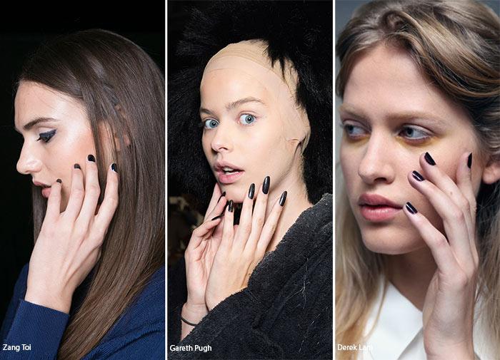 Spring/ Summer 2016 Nail Trends: Dark Manicure
