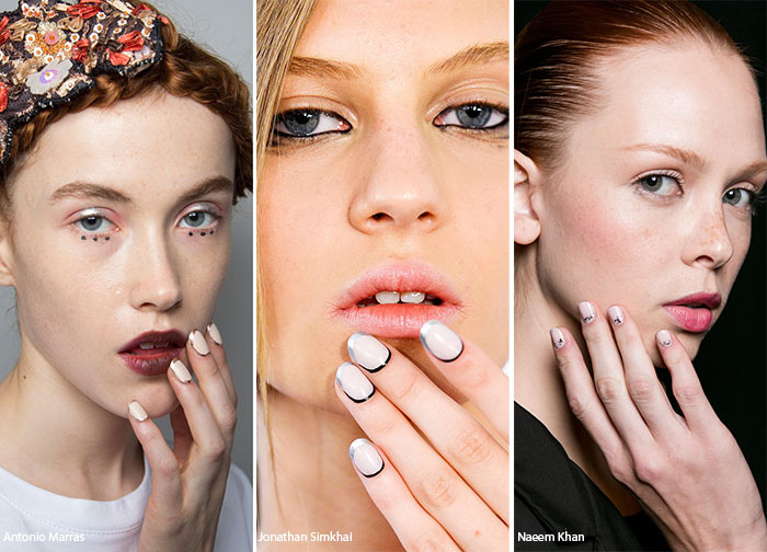 Spring/ Summer 2016 Nail Trends: Half-Moon, Bottom-Lined Manicure