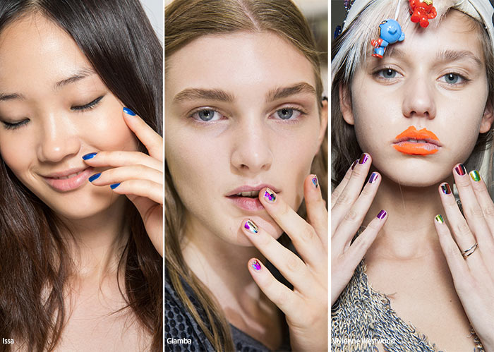 Spring/ Summer 2016 Nail Trends: Jewel-Tone Manicure