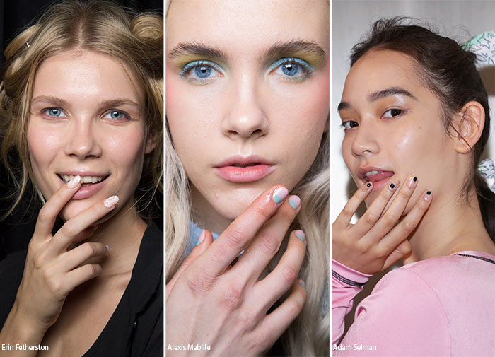 Spring Summer 2016 Nail Trends Minimalistic Art