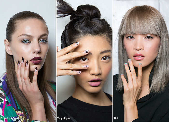 Spring Summer 2016 Nail Trends Negative Space Art