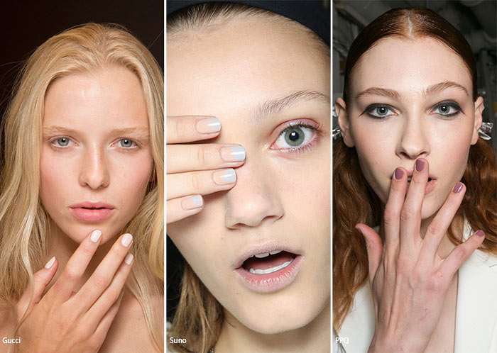 Spring/ Summer 2016 Nail Trends: Neutral, Nude Nails