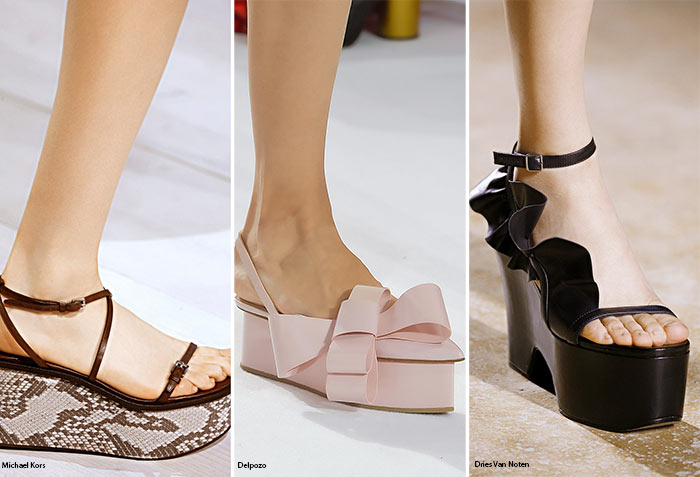 Spring/ Summer 2016 Shoe Trends: Flatforms