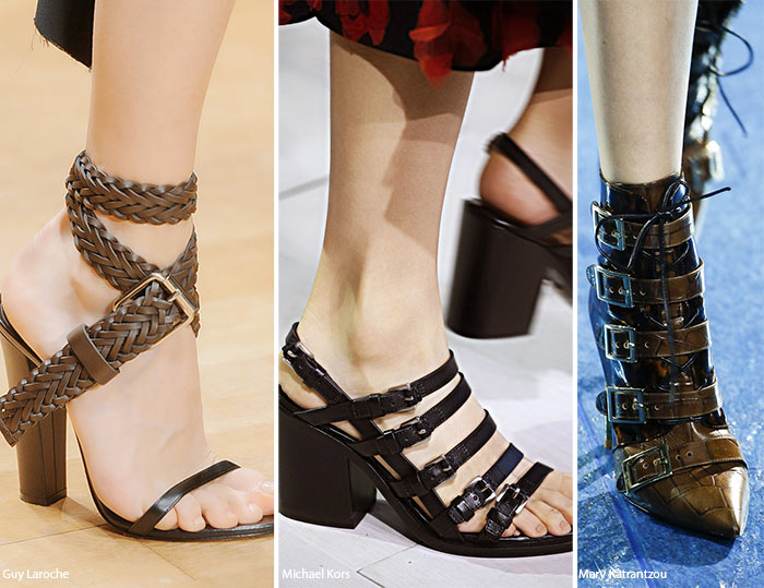 Spring/ Summer 2016 Shoe Trends: Shoes with Buckles