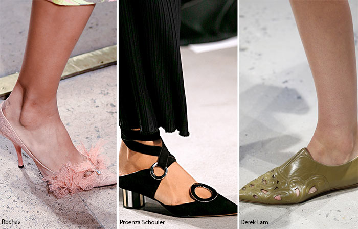 Spring/ Summer 2016 Shoe Trends: Shoes With Eyelet Cut-Outs
