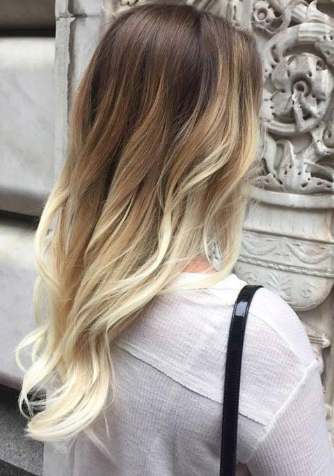 15 Balayage Hair Color Ideas With Blonde Highlights Fashionisers