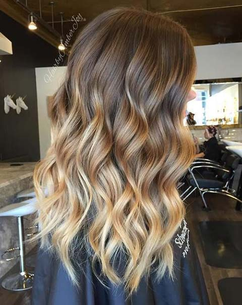 15 balayage hair color ideas with blonde highlights fashionisers. Black Bedroom Furniture Sets. Home Design Ideas