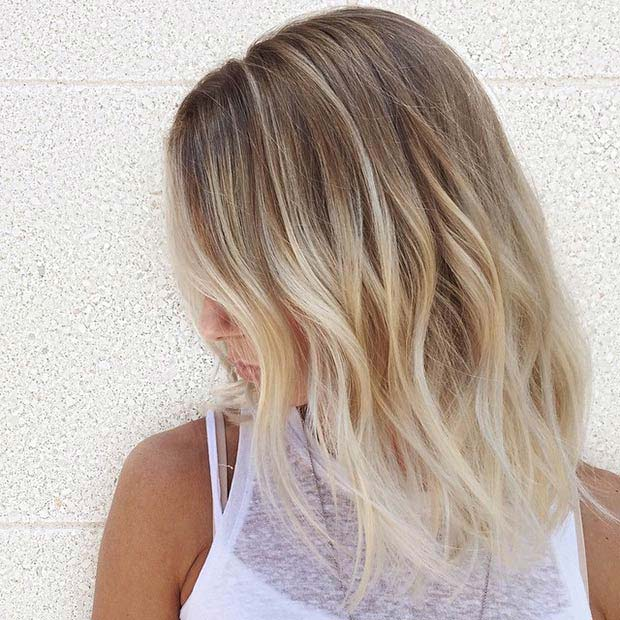 15 Balayage Hair Color Ideas With Blonde Highlights ...
