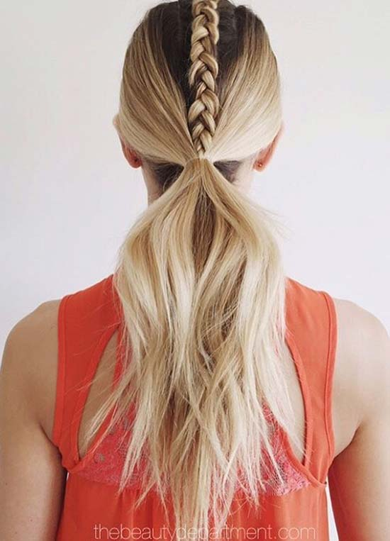 Top 40 Best Sporty Hairstyles For Workout Fashionisers C