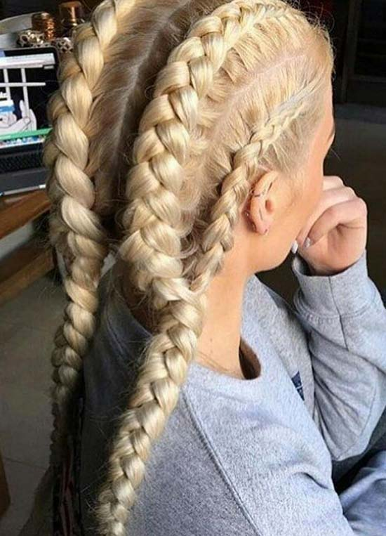 88+ Cool Braids For Sports