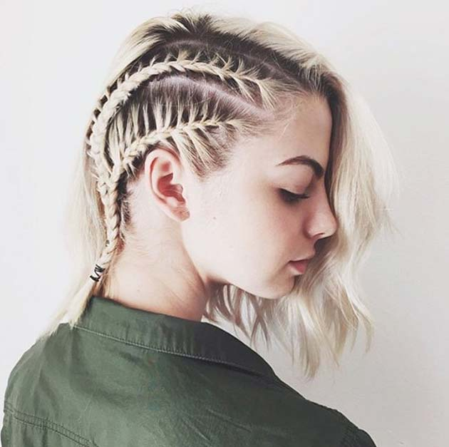 Styles Of Braids For Short Hair