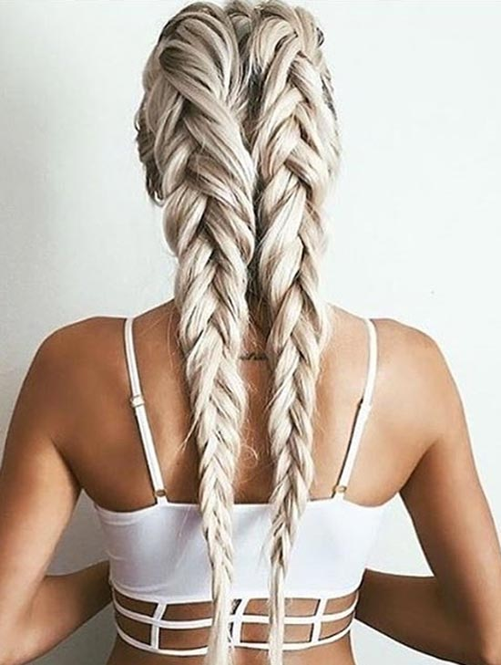 Stylish Boxer Braids Hairstyles