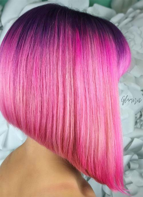 Short Hairstyles for Women: A Line Bob