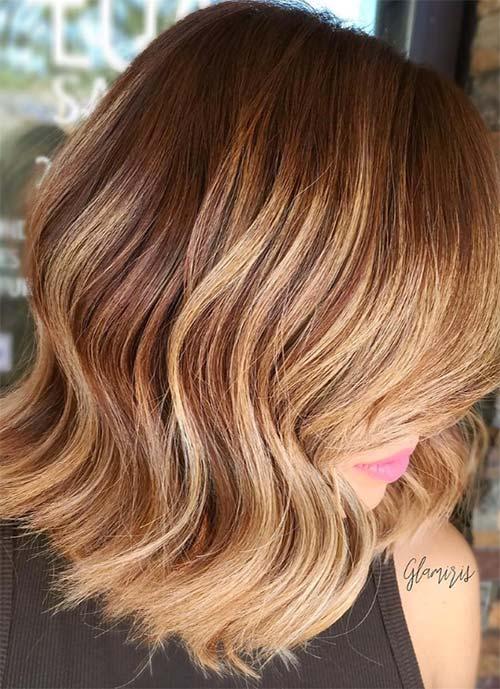 Short Hairstyles for Women: Balayage Bob