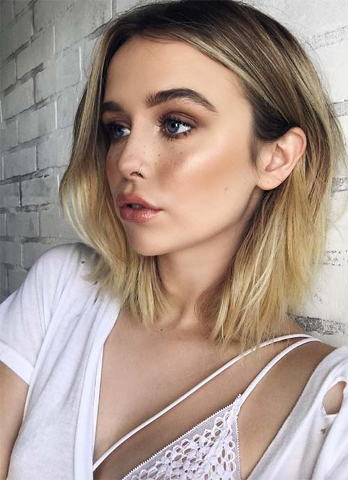 Short Hairstyles for Women: Balayage Bob
