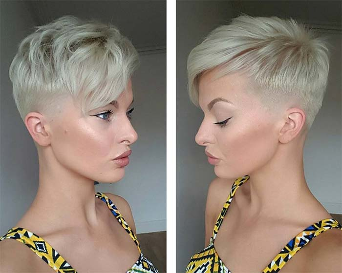 100 short hairstyles for women pixie bob undercut hair fashionisers. Black Bedroom Furniture Sets. Home Design Ideas